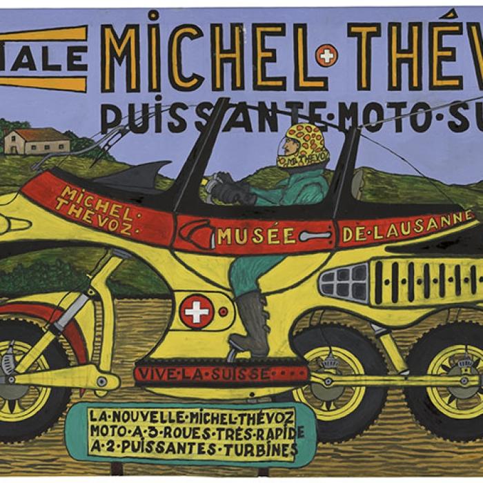 Spéciale Michel Thévoz