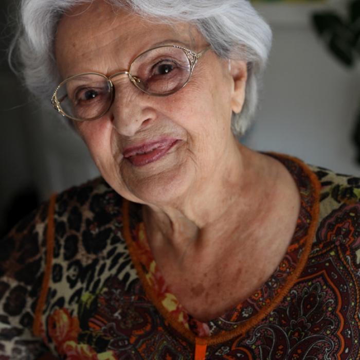 Portrait d'Henriette Zéphir