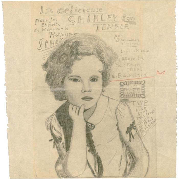 La délicieuse Shirley Temple 8 ans