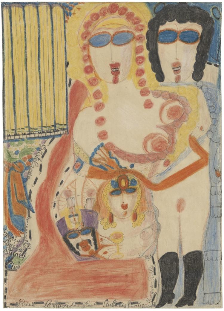 Sirène Louksor dans les Rubens fiançailles