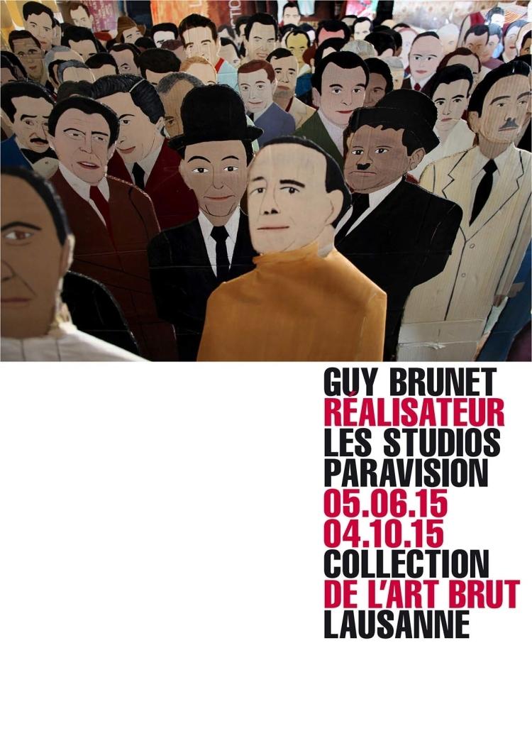 Guy Brunet réalisateur - Les studios Paravision - 05.06. - 04.10.2015